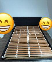 Bett mit Lattenrost ohne Matratze