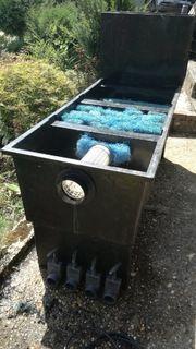 4 Kammer-Koi-Teichfilter