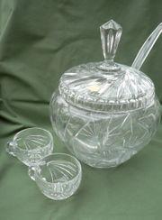 Kristall-Bowle
