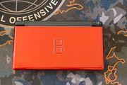 Nintendo DS Lite rot schwarz