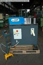 ZOPF T 200 digital Biegemaschine