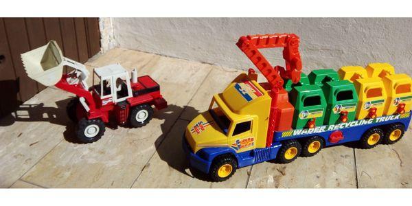 Kinder Sandfahrzeuge Spielfahrzeuge Radlader und