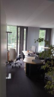 repräsentative Büroeinrichtung Ahorn-optik - Ideal für