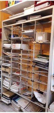Büromöbel gebraucht Schreibtisch Metallregal Hängeregister