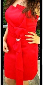 Abendkleid rot Gr 38 OTTO