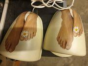 UV Lampen Füße