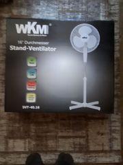 Stand-Ventilator von WKM Neuware statt