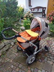 Combo-Kinderwagen von Gesslein mit Zubehör