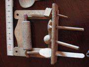 Puppenstube - Konvolut altes Holzboard 4