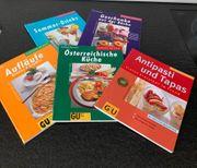 GU Kochbücher alle zusammen