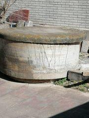 Polyestherbehälter als Wasserfass nutzbar