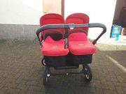 Gebrauchter Bugaboo Donkey - Zwillingskinderwagen Lieferung