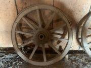 Holzrad mit eisen beschlagen