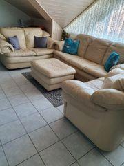 Sofa Garnitur Leder