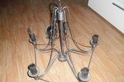 3x Kronenleuchter Metallleuchte Deckenlampe Top