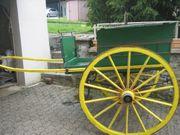 alte seltene Wagen Kutsche Kutschen