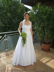 Brautkleid 2-teilig Ober- Unterteil Gr