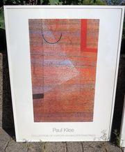 Paul Klee Kunstdruck gerahmt 90
