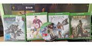 5 Xbox One Spiele