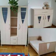 Geuther Babyzimmer Kinderzimmer Schrank Kommode