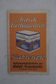 Nudelige Rezepte anno 1920 30