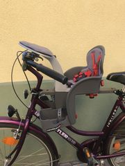 Kinder Fahrradsitz Frontmontage