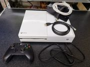 XBoX one in weiss mit