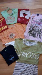 7 T-Shirts davon 2 Zweiteiler