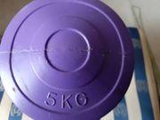 5 Kg Hantel Box einmal
