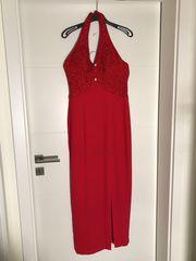 2 Abendkleider in rot