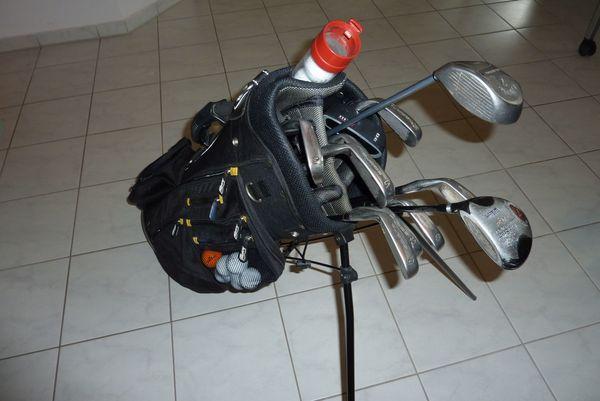 komplette Golfausrüstung incl Trolley