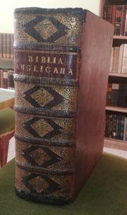 altes Buch antike englische Bibel