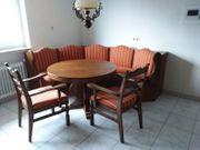 Eckbank mit Auszieh- Tisch und