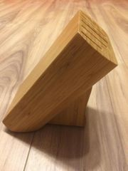 Messerblock für 5 Messer Holz