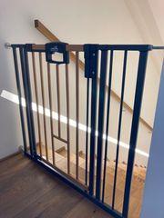 Treppenschutzgitter mit Katzendurchgang von Geuther
