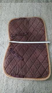 verkaufe Dressur Schabracke braun mit