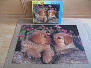 1 000 Teile Hunde-Puzzle