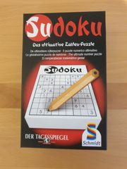 Sudoku Mitbringspiel Reisespiel von Schmidt