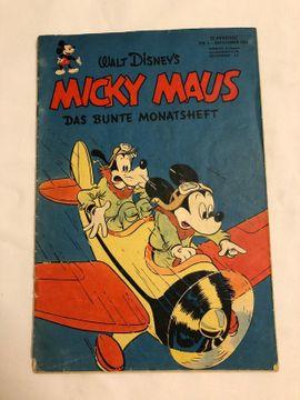 Micky Maus Heft Nr. 1 - 1951