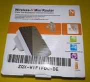 2 Stück Wireless-N Minirouter