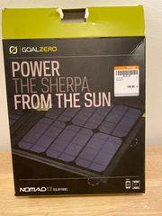 Solarpanel Goal Zero