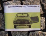Betriebsanleitung VW 1500 Karmann Ghia