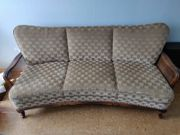 Chippendale 3er Couch 2 Sessel
