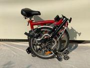 BROMPTON Faltrad Camping Klapprad Citybike