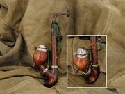 Jäger-Pfeife Bruyere Jägerpfeife vintage Holz