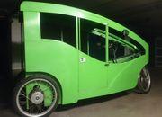 Rikscha Model Rom Pedicab Velotaxi