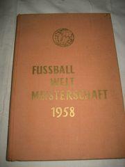 Fußball WM 1958 Schweden Sport