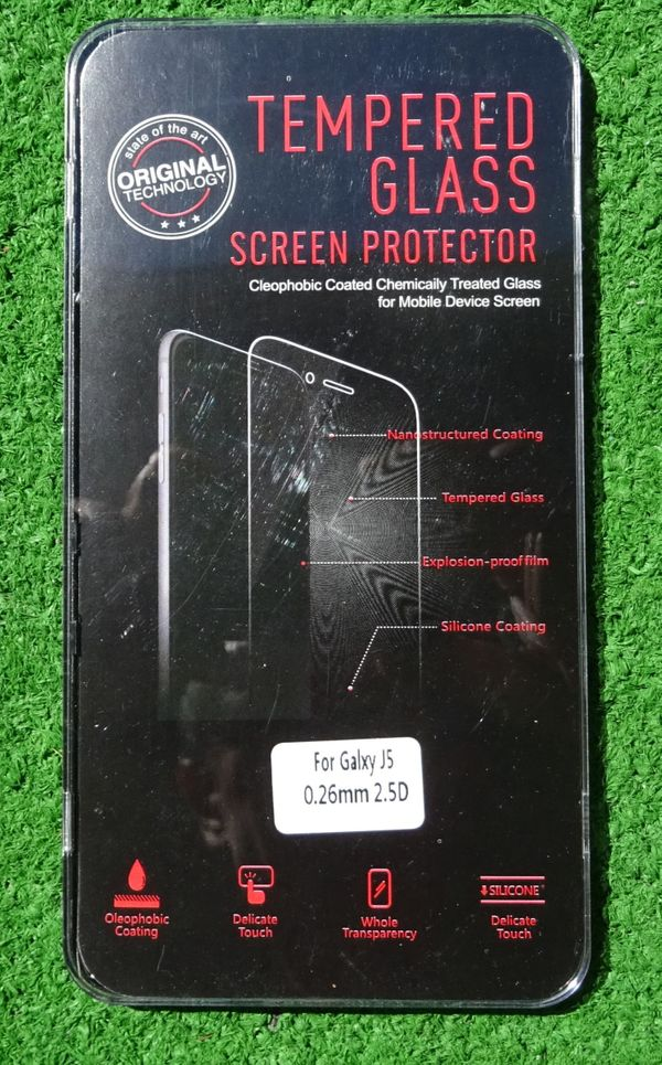 Samsung Galaxy J5 Schutzglas Panzer