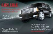 Scheibentönungen und Fahrzeugfolierungen