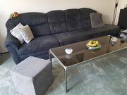 Couch Couchtisch grau zu verschenken